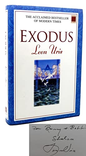 EXODUS Signed 1st: Leon Uris