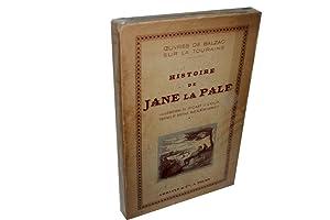 Histoire de Jane la Pale. Oeuvres de: BALZAC (Honoré de).