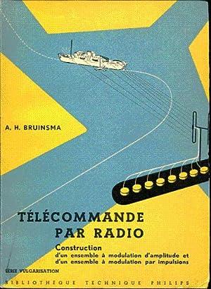 Télécommande par radio. Construction d'un ensemble à: Bruinsma A. H.