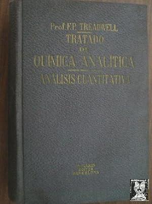 TRATADO DE QUÍMICA ANALÍTICA. Tomo II Análisis: Dr. TREADWELL, F.P.