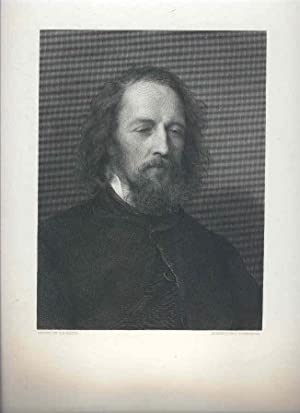 G. F. Watts' Portrait of Tennyson. [Mounted: Tennyson, Alfred). Watts,