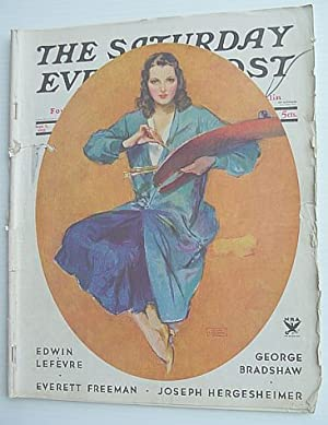 The Saturday Evening Post Magazine September 9, 1933