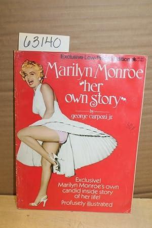 "Marilyn Monroe ""Her Own Story"": Carpozi, George Jr."