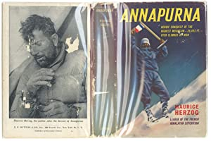 Annapurna -- Heroic Conquest of the Highest Mountain -- 26,493 Ft -- Ever Climbed By Man""