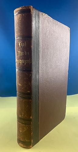 Das Alter des Menschengeschlechts auf der Erde: Sir Lyell, Charles: