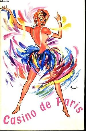 Programme. LES GIRLS DU CHARLEY BALLET, LE: CASINO DE PARIS