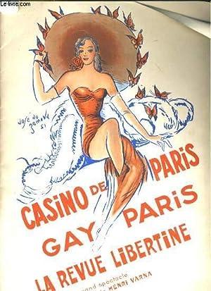 Gay Paris. Programme du Casino de Paris.: CASINO DE PARIS