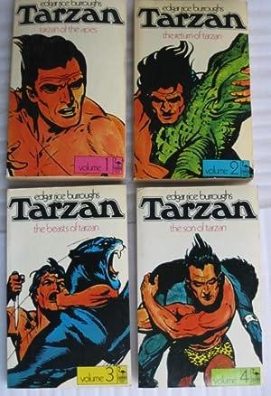"Flamingo Books ""Tarzan"" series: book (1) one: Burroughs, Edgar Rice"