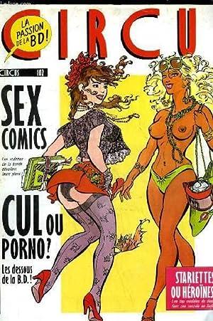 CIRCUS N°102 - SEX COMICS, CUL OU: COLLECTIF
