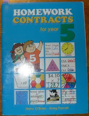 Homework Contracts for Year 5