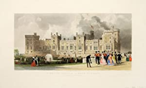 Windsor Castle East Terrace. The Queen's private: ALLOM, T.