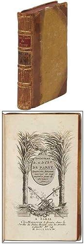 Opuscules de M. le chevalier de Parny.: PARNY, M. le