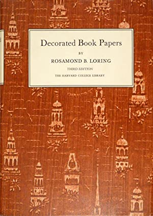 Decorated Book Papers: Being an Account of: BUNTPAPIER - LORING,