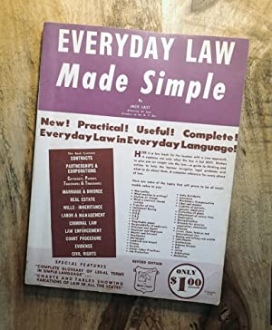 EVERYDAY LAW MADE SIMPLE: Revised Edition (The Made Simple series)