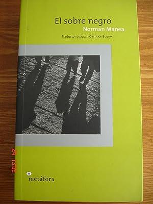 El sobre negro.: Norman Manea.
