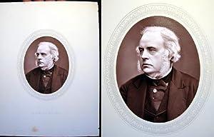 1876 Woodburytype of the Right Hon. John Bright, M.P. For Birmingham: John Bright)