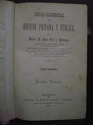 CURSO ELEMENTAL DE HIGIENE PRIVADA Y PUBLICA: GINE Y PARTAGAS,