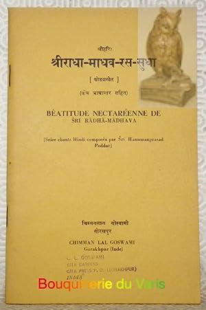 Béatitude Nectaréenne de Sri Radha-Madhava. Seize chants
