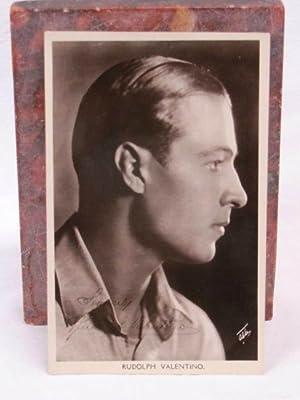 "Rudolph Valentino J. BEAGLES Postcard ""Picturegoer"" Series: Rudolph Valentino"