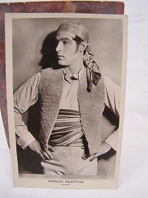 "Rudolph Valentino Postcard ""Picturegoer"" Series: Rudolph Valentino"