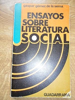 Ensayos Sobre Literatura Social: Gomez De La