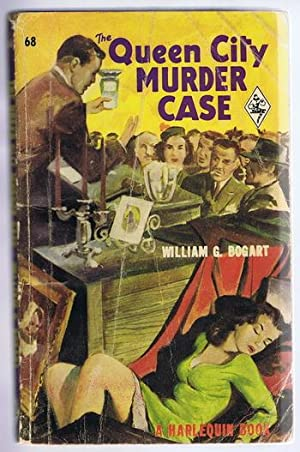 The Queen City Murder Case. (vintage 1950 Harlequin Book #68); Johnny Saxon series;