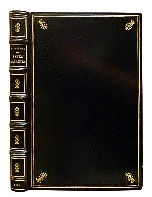 FÊTES GALANTES. Dessins et eaux-fortes de Léon Lebègue: VERLAINE, Paul / LEBEGUE, Léon (ill.)