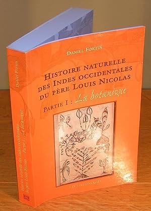 HISTOIRE NATURELLE DES INDES OCCIDENTALES DU PÈRE: FORTIN, Daniel