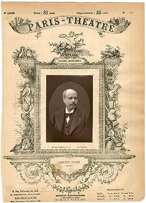 Lemercier et Cie, Paris-Théâtre, Louis Marc Adolphe: Photographie originale /