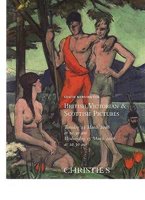 Christies 2006 British, Victorian & Scottish Pictures: Christies