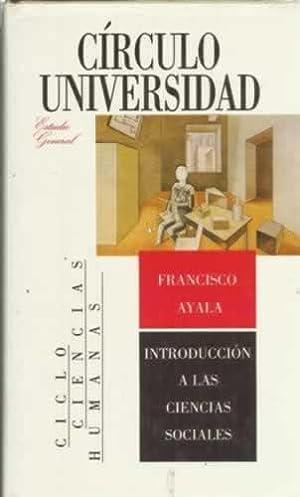 Introducción a las ciencias sociales: Ayala, Francisco