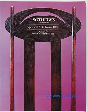 Applied Arts from 1880: Collectif