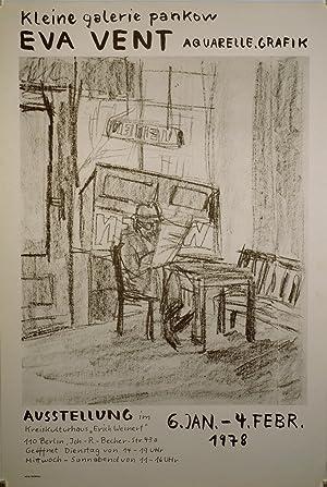 "Eva Vent. Aquarelle, Grafik. Kleine Galerie Pankow. Ausstellung im Kreiskulturhaus ""Erich ..."