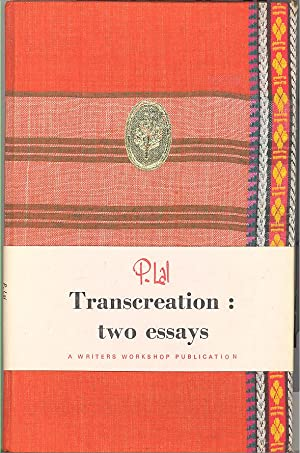 Seller image for Transcreation: Two Essays for sale by PERIPLUS LINE LLC