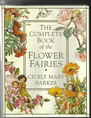 THE COMPLETE BOOK of the FLOWER FAIRIES plus Flower Fairies Figuerine Series 1