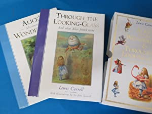 Alice's Adventures in Wonderland & Through the: Carroll, Lewis. Illustrated