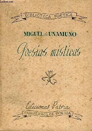 POESIAS MISTICAS: MIGUEL DE UNAMUNO