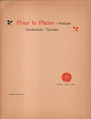 Pour le Piano - Prelude. Sarabande -: Debussy, Claude: