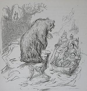 Der Waldläufer. Mit Steinzeichnungen von Max Slevogt: Ferry, Gabriel; Max