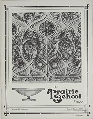 The Prairie School Review: Volume XI, Number: Hasbrouck, W.R. &