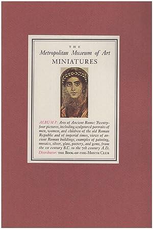 The Metropolitan Museum of Art Miniatures (7: Metropolitan Museum of