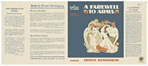 Facsimile Dust Jacket ONLY A Farewell to: Ernest Hemingway
