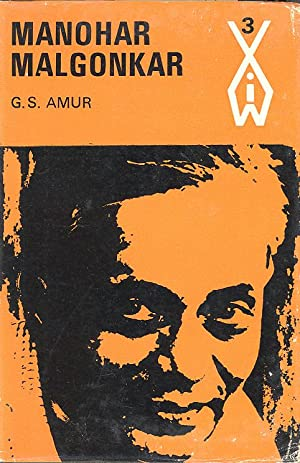 Seller image for MANOHAR MALGONKAR (Indian Writers series) for sale by PERIPLUS LINE LLC