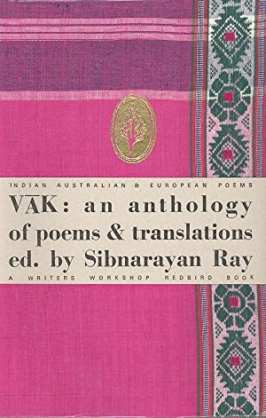 Seller image for VAK: an anthology of poems & translations. for sale by PERIPLUS LINE LLC