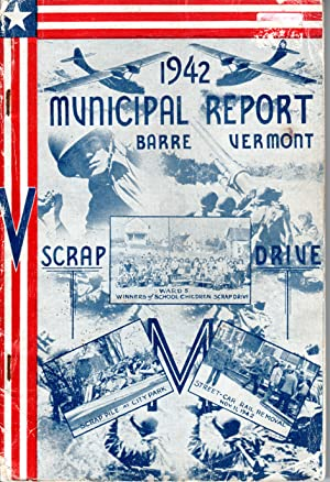 Seller image for Forty-eighth Annual Report of the City of Barre Vermont for the year ending December 31, 1942 for sale by PERIPLUS LINE LLC