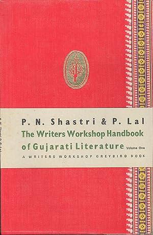 Seller image for Writers Workshop Handbook of Gujarati Literature Volume One for sale by PERIPLUS LINE LLC