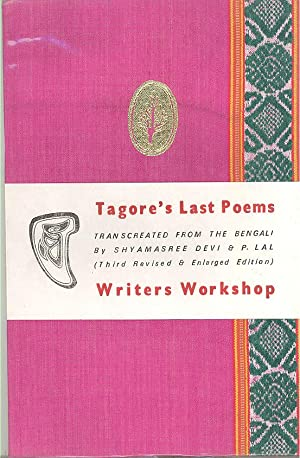 Seller image for Tagore's Last Poems (Shesh-Lekha) for sale by PERIPLUS LINE LLC