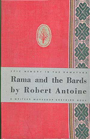 Seller image for RAMA AND THE BARDS: EPIC MEMORY IN THE RAMAYANA for sale by PERIPLUS LINE LLC