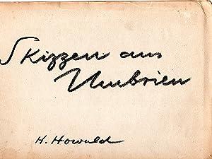 Seller image for Skizzen aus Umbrien for sale by PERIPLUS LINE LLC