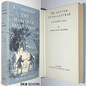 The Master of Ballantrae: A Winter's Tale: Stevenson, Robert Louis